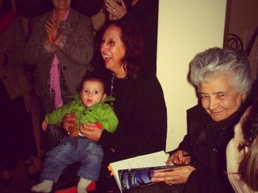 momentos de convívio com Luísa Dacosta